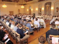 Gottesdienst in Benediktbeuern