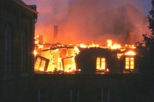 Foto vom Brand