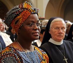 Eine Schwester aus Angola