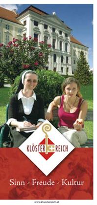 Die neue Broschüre bietet reichhaltige Informationen zum Urlaub im Kloster