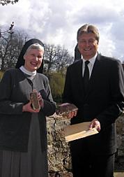 Bewilligungsübergabe Kloster Nette