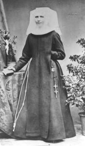 Sr. Angela im Maria-Stern-Kloster