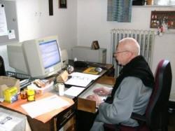Br. M. Famian OCSO versendet seit 20 Jahren Betrachtungsbriefe.