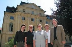 Freuen sich über die erfolgreiche Generalsanierung (von links): Friedrich Staib, Alfred Wiener, Schwester Reginarda Holzer, Schwester Katharina Ganz und Rainer Kriebl.