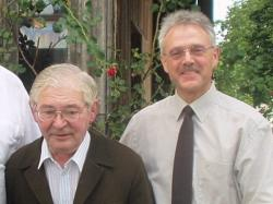 Bruder Kornelius Herrler SDB (li.) und Direktor Pater Claudius Amann SDB (re.)