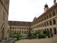 Innenhof der Abtei Seckau