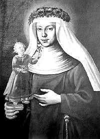 Schwester Maria Hueber (1653 bis 1705), die gottselige Mutter Anfängerin der Tertiarschwestern vom hl. Franziskus in Brixen