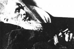 Konrad von Parzham, auf dem Sterbebett, 1894