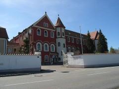 Abtei St. Gertrud von Nordosten